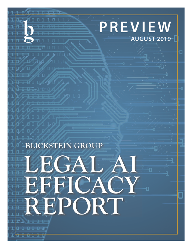 Blickstein AI Efficacy Report Preview_Cover Image
